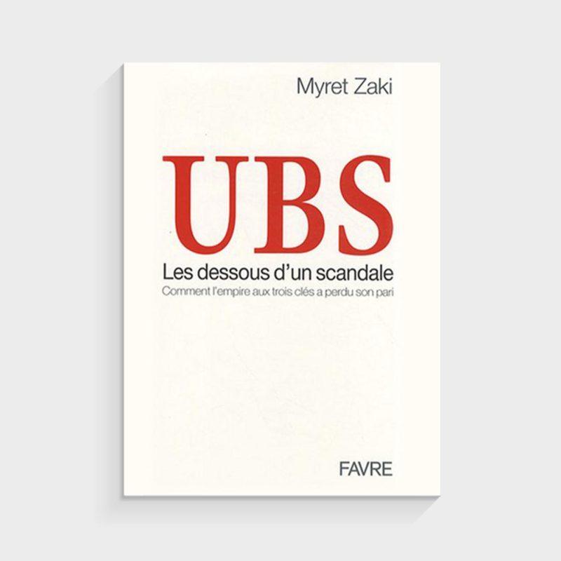 UBS les dessous d'un scandale