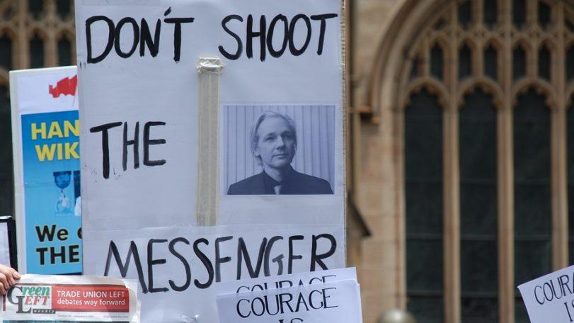 Les mêmes armes utilisées contre Assanges pourront être utilisée contre tous les journalistes d'investigation.